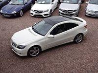 2009 MERCEDES-BENZ CLC CLASS 1.8 CLC180 KOMPRESSOR SPORT 3d AUTO 143 BHP £SOLD
