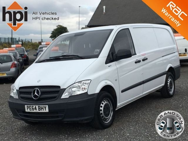 2014 64 MERCEDES-BENZ VITO 2.1 113 CDI BLUEEFFICIENCY LONG LWB