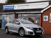 USED 2015 15 HONDA CIVIC 1.6 I-DTEC SE PLUS 5dr *ONLY 9.9% APR with FREE Servicing*