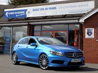 USED 2014 64 MERCEDES-BENZ A CLASS A200 2.1 CDi AMG SPORT 5dr AUTO *Sat Nav* *ONLY 9.9% APR with FREE Servicing*