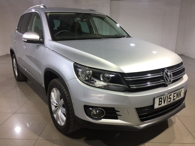 View our 2015 15 VOLKSWAGEN TIGUAN 2.0 MATCH TDI BLUEMOTION TECH 4MOTION DSG 5d AUTO 139 BHP