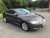 USED 2009 59 JAGUAR XF 3.0 V6 LUXURY 4d AUTO 240 BHP 2 OWNERS FSH GREY WITH BLACK LEATHER NAV REV CAMS ONLY 55K