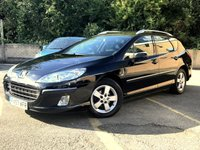 2007 PEUGEOT 407 2.0 SW SE HDI 5d ESTATE, 5 SERVICES INC CAM BELT CHANGED  £2495.00