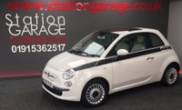 USED 2012 12 FIAT 500 1.2 Lounge 3dr  500 Exclusive Graphics