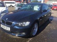 2008 BMW 3 SERIES 2.0 320I SE 2d 168 BHP £5999.00
