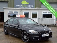 USED 2013 13 BMW 5 SERIES 2.0 520D M SPORT 4d 181 BHP LOW RATE PCP AND HIRE PURCHASE AVAILABLE