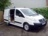 2008 FIAT SCUDO 2.0 COMFORT SWB MULTIJET 1d 118 BHP £4999.00