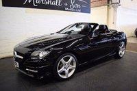 2012 MERCEDES-BENZ SLK 1.8 SLK200 BLUEEFFICIENCY AMG SPORT 2d AUTO 184 BHP £13299.00