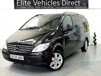 2008 MERCEDES-BENZ VITO 2.1 115 CDI LONG TRAVELINER  AUTO *8 SEATER* £10991.00
