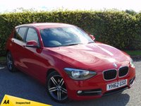 USED 2012 62 BMW 1 SERIES 2.0 120D SPORT 5d  * 128 POINT AA INSPECTED *