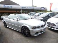 2002 BMW 3 SERIES 2.5 325CI 2d AUTO 190 BHP £5999.00