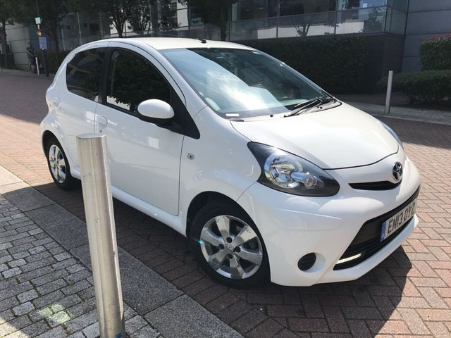 2013 13 TOYOTA AYGO 1.0 VVT-I MOVE WITH STYLE 5d 68 BHP
