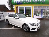 USED 2015 15 MERCEDES-BENZ C CLASS 2.1 C220 BLUETEC AMG LINE PREMIUM 4d AUTO 170 BHP 1 OWNER FROM NEW... LOW MILEAGE... JUST ARRIVED... NEW SHAPE