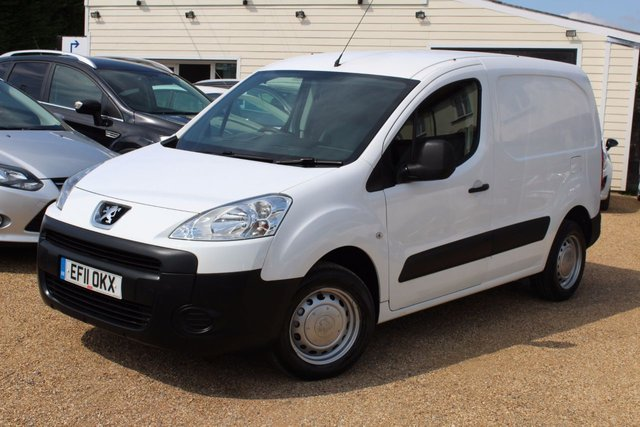 View our 2011 11 PEUGEOT PARTNER 1.6 HDI S L1 850 1d 89 BHP