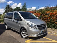 USED 2015 65 MERCEDES-BENZ VITO 119 BLUETEC TOURER SELECT AUTO 190 BHP - 8 SEATER Automatic, Reverse Camera, 8 Seats, Air Conditioning