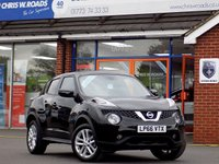 USED 2017 66 NISSAN JUKE 1.2 N-CONNECTA DIG-T 5dr 115 BHP * Sat Nav * *ONLY 9.9% APR with FREE Servicing*