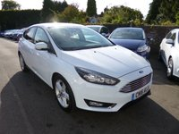 USED 2016 16 FORD FOCUS 1.5 TDCI TITANIUM NAVIGATOR 120 BHP THIS VEHICLE IS AT SITE 1 - TO VIEW CALL US ON 01903 892224