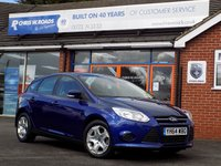 USED 2014 64 FORD FOCUS 1.6 TDCi EDGE (115) 5dr *ONLY 9.9% APR with FREE Servicing*