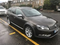 USED 2012 12 VOLKSWAGEN PASSAT 2.0 ALLTRACK TDI BLUEMOTION TECH 4MOTION 5d 139 BHP PRICE INCLUDES A 6 MONTH AA WARRANTY DEALER CARE EXTENDED GUARANTEE, 1 YEARS MOT AND A OIL & FILTERS SERVICE. 12 MONTHS FREE BREAKDOWN COVER