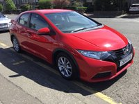 USED 2014 14 HONDA CIVIC 1.3 I-VTEC S 5d 98 BHP PRICE INCLUDES A 6 MONTH AA WARRANTY DEALER CARE EXTENDED GUARANTEE, 1 YEARS MOT AND A OIL & FILTERS SERVICE. 12 MONTHS FREE BREAKDOWN COVER.