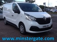 USED 2016 66 RENAULT TRAFIC 1.6 SL27 BUSINESS PLUS DCI 1d 120 BHP * ONLY 1689 MILES * RENAULT WARRANTY TIL DEC 2020, ONLY 1689 MILES (AS NEW), GOOD SPEC., READY FOR WORK