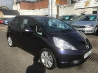 USED 2009 59 HONDA JAZZ 1.3 I-VTEC EX 5d 98 BHP PRICE INCLUDES A 6 MONTH AA WARRANTY DEALER CARE EXTENDED GUARANTEE, 1 YEARS MOT AND A OIL & FILTERS SERVICE. 12 MONTHS FREE BREAKDOWN COVER