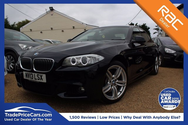 View our 2013 13 BMW 5 SERIES 3.0 530D M SPORT 4d AUTO 255 BHP