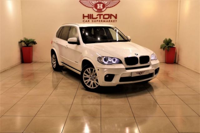 BMW X5 at Hilton Car Supermarket