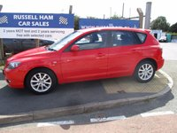 USED 2008 08 MAZDA 3 1.6 TAKARA 5d 105 BHP 9 Stamps Of Service History . 1 Owner Car . Owners Book Pack . Spare Key . New Mot & Service Done On Collection . 2 Years Free Mot & Service Included . 3 Months Russell Ham Warranty . Finance Arranged - Credit Cards Accepted .