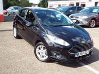 USED 2014 64 FORD FIESTA 1.0 ZETEC 5d 79 BHP One Owner ONLY 14k