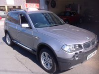 USED 2005 55 BMW X3 2.0 D SPORT 5d 148 BHP Excellent  Service History