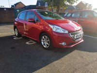 USED 2014 14 PEUGEOT 208 1.4 ACTIVE E-HDI 5d AUTO 68 BHP LOW MILEAGE AUTOMATIC, £0 ROAD TAX