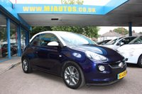 USED 2014 64 VAUXHALL ADAM 1.2 JAM S/S 3dr 69 BHP Pump Up The BLUE with WHITE My Fire Roof Colour!!