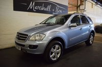 USED 2007 57 MERCEDES-BENZ M CLASS 3.0 ML280 CDI SE 5d AUTO 188 BHP