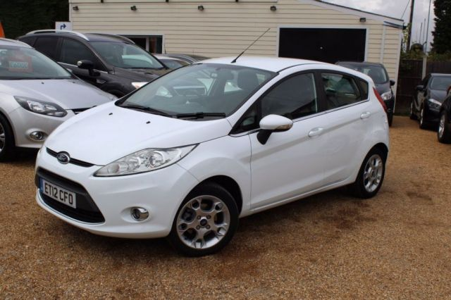 View our 2012 12 FORD FIESTA 1.2 ZETEC 5d 81 BHP