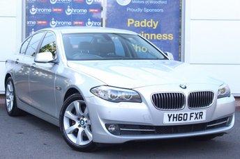 2010 BMW 5 SERIES 3.0 530D SE 4d AUTO 242 BHP £9000.00