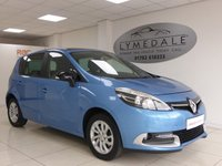 2014 RENAULT SCENIC 1.2 LIMITED ENERGY TCE S/S 5d 130 BHP £8895.00