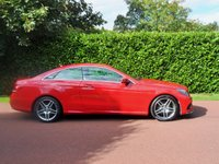 USED 2015 15 MERCEDES-BENZ E CLASS 2.1 E220 BLUETEC AMG LINE 2d AUTO 174 BHP BEST COLOUR COMBO+LOW MILES+JUST SERVICED 1ST 2 SEE WILL BUY
