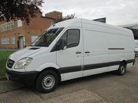 USED 2011 11 MERCEDES-BENZ SPRINTER 2.1 313CDI XLWB HIGH ROOF 129 BHP. RARE 4.7MTR SIZE. BIG CHOICE FINANCE. IDEAL CAMPER OR MOTOCROSS. PX WELCOME