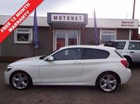 2013 BMW 1 SERIES 2.0 118D M SPORT 3DR HATCHBACK DIESEL  £13800.00