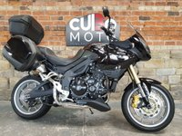 USED 2007 G TRIUMPH TIGER 1050 1050cc TIGER 1050 ABS  Full Luggage