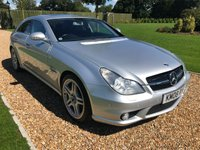 USED 2008 08 MERCEDES-BENZ CLS CLASS 6.2 CLS63 AMG 4d AUTO 507 BHP HEATED MASSAGE LEATHER SEATS, SATNAV, PARK ASSIST