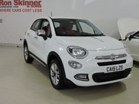 USED 2015 15 FIAT 500X 1.4 MULTIAIR POP STAR 5d 140 BHP