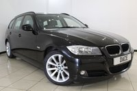 USED 2010 10 BMW 3 SERIES 2.0 320D SE TOURING 5DR 181 BHP SERVICE HISTORY + AIR CONDITIONING + PARKING SENSOR + MULTI FUNCTION WHEEL + RADIO/CD + 17 INCH ALLOY WHEELS