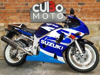 2003 SUZUKI GSX-R600 600cc £3290.00