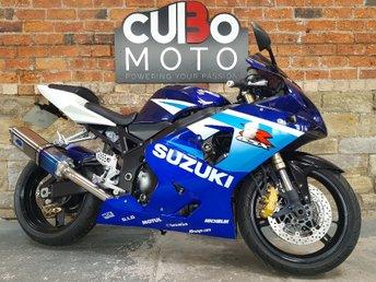 2005 SUZUKI GSXR 600 599cc GSXR 600 K5  £3790.00