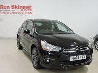 USED 2015 64 CITROEN DS4 2.0 HDI DSTYLE 5d 161 BHP