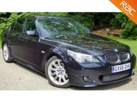 USED 2006 56 BMW 5 SERIES 3.0 530d M Sport 4dr HUGE SPEC+F/S/H+RAC WARRANTY!