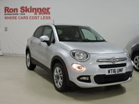 USED 2016 16 FIAT 500X 1.6 MULTIJET POP STAR 5d 120 BHP
