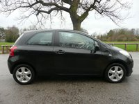 USED 2007 56 TOYOTA YARIS 1.3 T SPIRIT VVT-I 3d 86 BHP FSH,Great spec,PX bargain.New mot once sold.